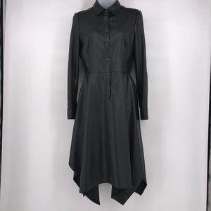 BCBG MaxAzria Beatryce Faux Leather Dress